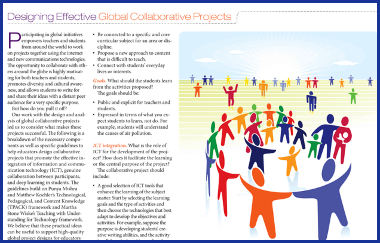 Designing Effective Global Collaborative Projects